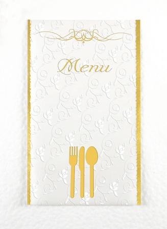 Menu of restaurant Stock Photo - 20777759