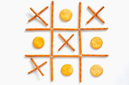 salted sticks and biscuits Stock Photo - 16486348