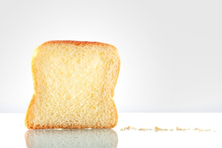 Sliced bread isolated Stock Photo - 16480265