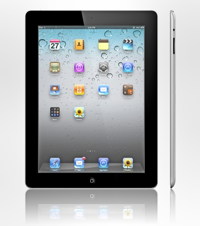 Das Retina Display auf dem neuen, dritten Generation iPad macht alles sehen schärfer und lebensechter. Es ist das beste Handy-Display je.