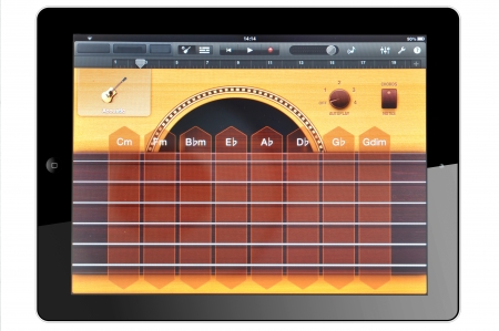 Tablet and Virtual Instruments Stock Photo - 16425402