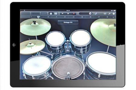 Tablet and Virtual Instruments Stock Photo - 16425396