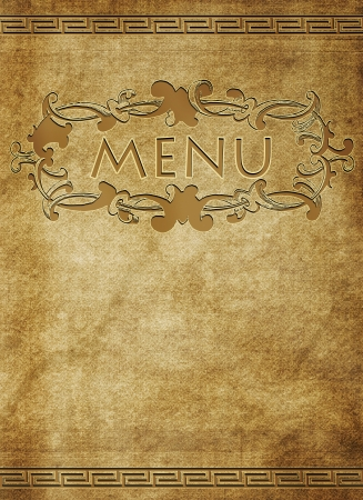 Menu of restaurant Stock Photo - 16480970