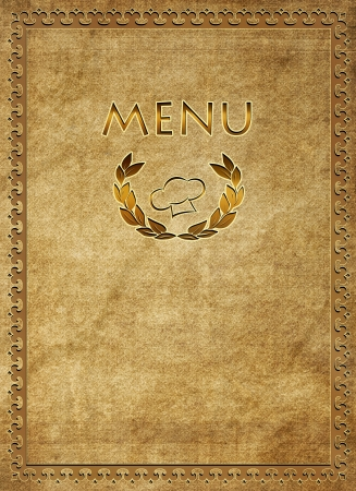 Menu of restaurant Stock Photo - 16480956