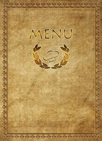 Menu of restaurant Stock Photo - 16480956
