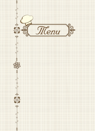 Menu of restaurant Stock Photo - 16481830