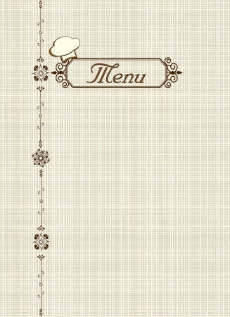 Menu of restaurant Stock Photo - 20777758