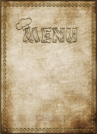 Menu of restaurant Stock Photo - 16480935