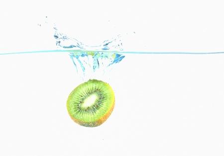 kiwi falling in water Stock Photo - 16486377