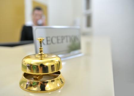 Hotel reception Stock Photo - 16509460