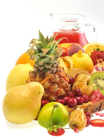 fruits and juice Stock Photo - 16481226