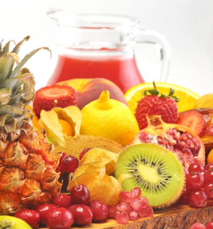 fruits and juice Stock Photo - 16481332