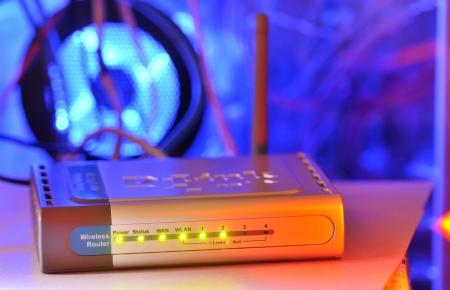 wireless router Stock Photo - 16481013