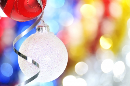 globe christmas decorations Stock Photo - 16483233
