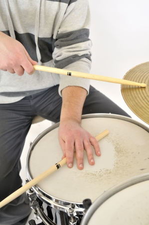 drummer playing Stock Photo - 16482123