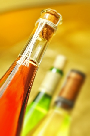Still-life with wine bottles Stock Photo - 16482837