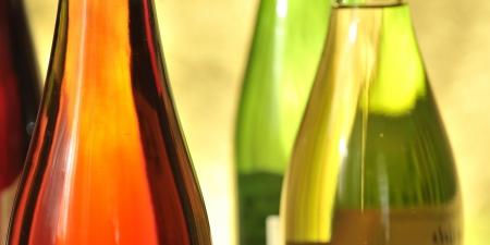 Still-life with wine bottles Stock Photo - 16486307