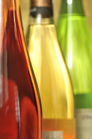 Still-life with wine bottles Stock Photo - 16481456