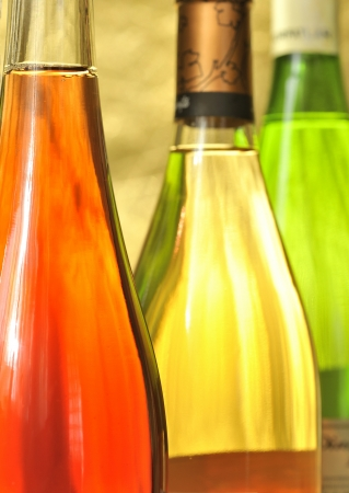 Still-life with wine bottles Stock Photo - 16482848