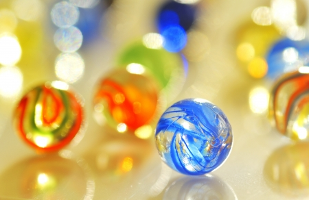 glass balls photo