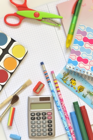 school things Stock Photo - 16481678