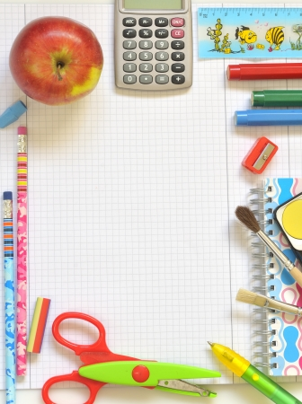 school things Stock Photo - 16481550