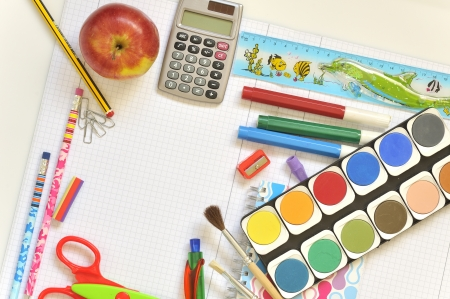 school things Stock Photo - 16482442