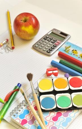 school things Stock Photo - 16481568