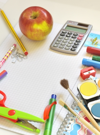 secondary school student: school things
