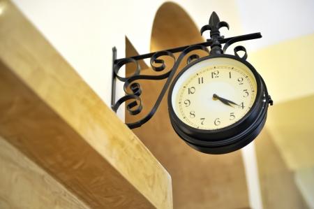 estacion de tren: Antiguo reloj