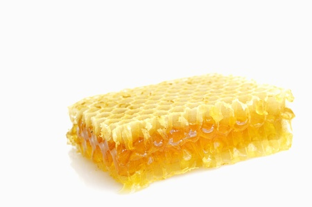 Honeycomb isolated on white  Stock Photo - 16483244