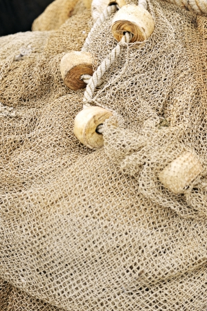fishing net with floats Stock Photo - 16480895