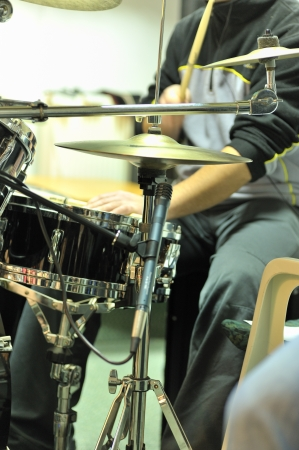 playing drums Stock Photo - 16425512