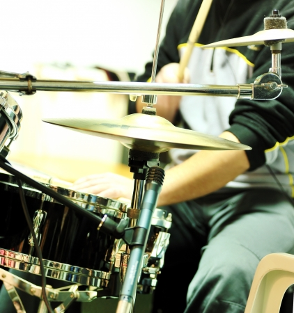 play the drum Stock Photo - 16483263