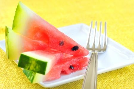 fresh sliced watermelon Stock Photo - 16481596