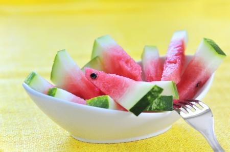 fresh sliced watermelon Stock Photo - 16481233
