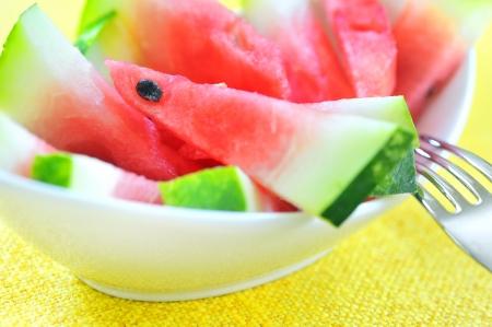 fresh sliced watermelon Stock Photo - 16481635