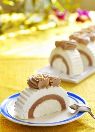 A slice of ice cream Stock Photo - 16483210