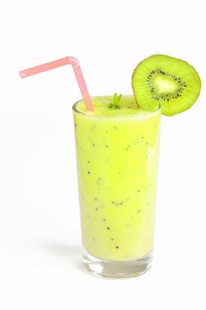 fresh juice made from kiwi fruit Stock Photo - 16480827