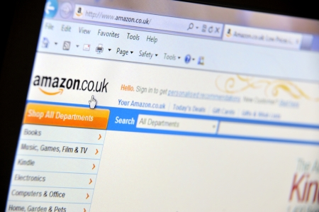 technology transaction: amazon uk page