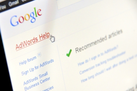 Google AdWords  Help Stock Photo - 16425372