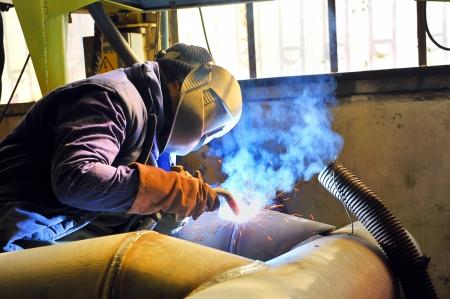 welding with mig mag method