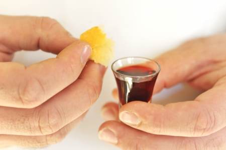 Taking Communion Stock Photo - 16526972