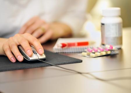 Arzt Rezept online Medizin