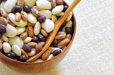 different type of beans photo