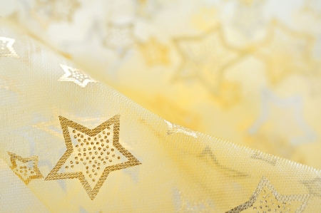 Golden  stars on background photo