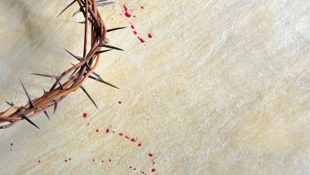 kruzifix: Dornenkrone Lizenzfreie Bilder
