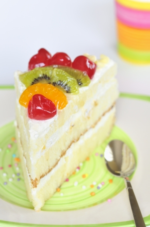 piece of delicious cake Stock Photo - 20772944