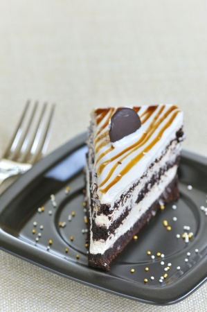 cake with chocolate Stock Photo - 16567589