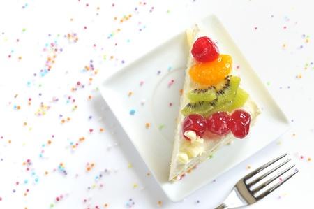 piece of delicious cake Stock Photo - 20777354